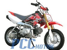 Free shipping Coolster-210 Kids 4 Stroke 70Cc Dirt Bike Red