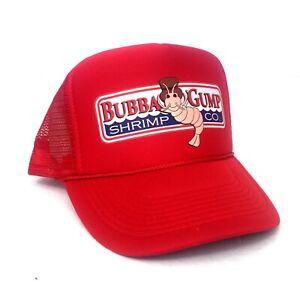 BUBBA GUMP HAT ~ FORREST GUMP HALLOWEEN COSTUME ~ BUBBA GUMP SHRIMP TRUCKER HAT