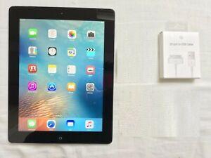 Apple iPad 2 64GB, Wi-Fi, 9.7in - Black  iOS 9.3.5