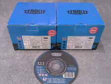 50 Stück TYROLIT  Trennscheiben INOX 125x2,5x22,2 PREMIUM 2 in 1