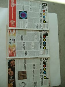 BILLBOARD Magazines (3) June 24th 1974, December 16th 1972, September 1st 1973