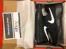 Nike Roshe run black with white speckle Oreo Size 9 UK Brand new in box UK