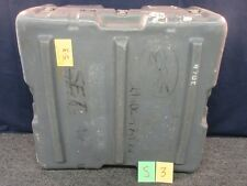 HARDIGG MILITARY STORAGE CASE PLASTIC GRAY 26X24X12 TRANSPORT CHEST EQUIPMENT