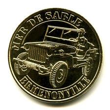 60 ERMENONVILLE Mer de Sable, Jeep,  2015, Monnaie de Paris