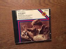 Schubert - Death and the Maiden Mädchen Tod [CD Album] CBS Juilliard Quartet