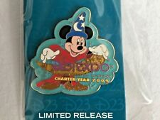 Disney Pin 72466 D23 Expo 2009 Mickey Sorcerer Hat Fantasia Limited Release NEW