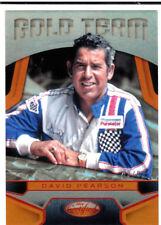 2016 Certified Gold Team Mirror Orange #GT3 David Pearson #'d 69/99