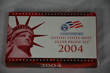 2004 US Silver Proof 11 coins 50th States Quarters Set