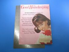 Good Housekeeping Magazine April 1966 Birth Control Method Replace Pill M4588