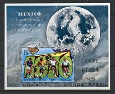 CHAD  WORLD CUP SOCCER OVPT MUNICH OLYMPICS SCOTT#227F  MINT NH  S/S  SCOTT 9.00