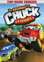 New: THE ADVENTURES OF CHUCK AND FRIENDS - Top Gear Trucks DVD