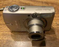 Canon Power Shot SD550  Digital ELPH Camera With Box And Accessories