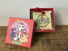 Vintage Mary Engelbreit Sterling Silver Ornament 1998 Children & Tree w/Box