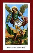 SANTINO - HOLY CARD- IMAGE PIEUSE - Heiligenbild  S.MICHELE ARCANGELO