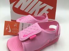 Nike Sunray Adjust 5 TD Psychic Pink Toddler Sports Sandals Size 7c AJ9077-601