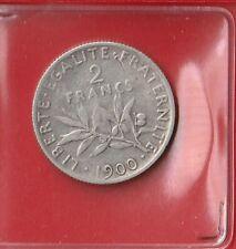 2 FRANCS - TROISIEME REPUBLIQUE - 1900 -  TB