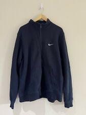 04 Nike Men's Zip fleece Navy UK Size XXL