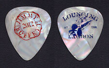 Jimmy Buffett White Pearl Guitar Pick - 2012 Lounging At The Lagoon Tour