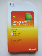 GENUINE Microsoft Office 2010 Home and Student, 79G-02020