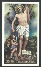 Estampa de San Bartolome andachtsbild santino holy card santini
