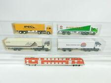BD309-0,5# 4x Wiking H0/1:87 Semi-remorque Scania: 546 Ipec+520 Navis etc, W+
