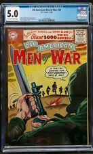 ALL-AMERICAN MEN OF WAR #39 CGC 5.0 OFFWH-WHITE MINOR KEY 1956 SGT.ROCK PROTO!