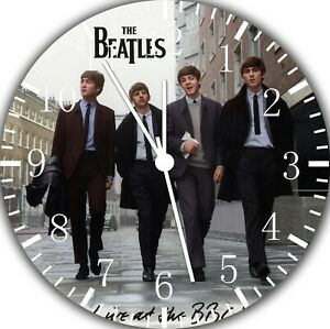 The Beatles Frameless Silent Wall Clock Nice For Gifts or Decor G80