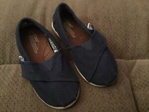 Toms Baby 7 Navy Shoes