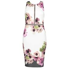 NEW Ted Baker Nanina Neapolitan Buckle Detail Dress - Size 2 US 6 #TED74