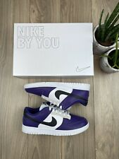 Nike Dunk Low Made buy you Herren Gr. 43 Lila Sport Skating