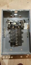 Square D 100 Amp Main Breaker Panel With 5 Breakers