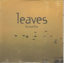 Leaves ‎CD Breathe - Promo - England (M/M - Scellé / Sealed)