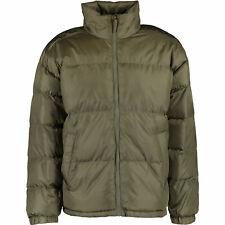 Mens Kappa Khaki Sports Puffer Coat Medium   RRP £67