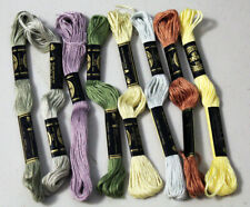 Dmc Floss 1 Skein Pick Your Colors #3031-3774 (#25 8.7yds 6-Strand 100% Cotton)