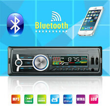 12V FM Car Stereo Radio Bluetooth 1Din In Dash Handsfree SD/USB AUX Head Unit