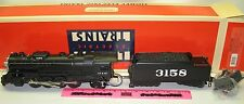 New Lionel Santa Fe Mikado Steam Locomotive & Tender 6-18034