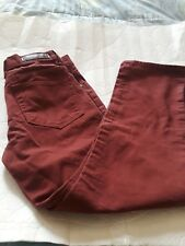 TRACK 23 CREATIVE LAD STRAIGHT FIT MEN JEANS SIZE W31 BY L29 1/2 COLOR  RUST