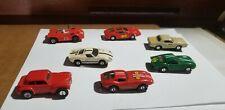 Vintage 1960s AURORA TJET HO Slot Car Lot Needs Restoration Rare