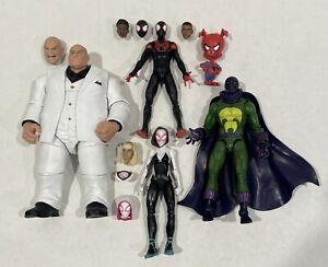 Marvel Legends Spider-Man/Spider-Verse Figures incl. Miles Gwen Kingpin Prowler