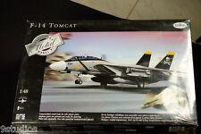 Testors Metal F 14 Tomcat Airplane 1:48 Scale Diecast Metal Model Kit NEW SEALED