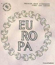 EUROPA  Yt1310  FRANCE  FDC Enveloppe Lettre Premier jour