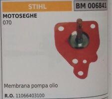 11066403100 MEMBRANA GUARNIZIONE POMPA OLIO MOTOSEGA STIHL 070