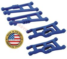 RPM 80245 Front & 80185 Rear BLUE A-Arms Traxxas VXL XL5 Rustler & Stampede 2wd