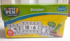 New Power Pen Learning Cards - Division by Teacher Created Resources Grades 3-5