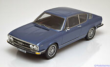 1:18 KK-Scale Audi 100 Coupe S 1970 bluemetallic ltd. 500 pcs.