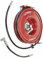 "Alemite 8078-B Heavy-Duty Hose Reel, 6,400 Psi Rating, 1/4"" x 50' Hose"
