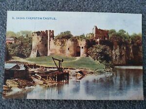 Photochrom Co Ltd, Chepstow Castle, Monmouthshire, Norman Castle 1067.