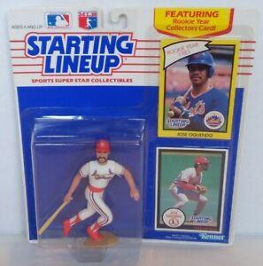 Jose Oquendo 1990 Starting Lineup Kenner Baseball Figure Cardinals RARE