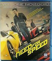Need for speed (Blu Ray) - Nuovo sigillato, versione noleggio