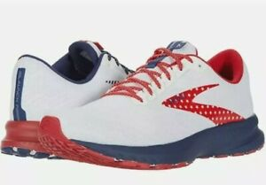 Brooks Launch 7 USA Edition Red/White/Blue Women's Running Shoes Size 11 Wide D